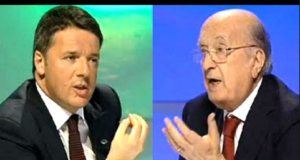 Matteo Renzi e De Mita